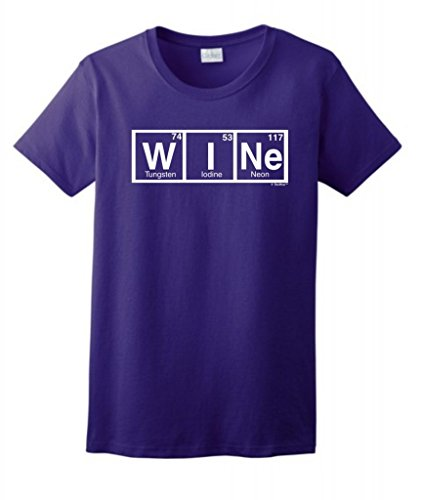 Spelled Periodic Elements Ladies T Shirt