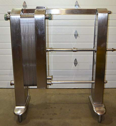 (York Plate and Frame Heat Exchanger 36 Plate Stainless Steel 3