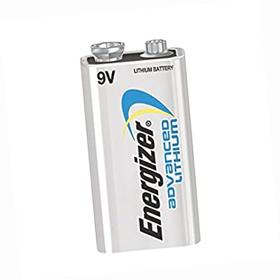 Energizer\xAE Ultimate Lithium 9V Batteries (12/Pkg) - LA522EN