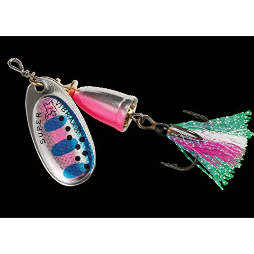 Blue Fox Classic Vibrax 03 Foxtail Tackle, Rainbow Trout, (0.25 Ounce Rainbow Trout)