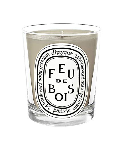 Diptyque Feu de Bois/Wood Fire Mini Scented Candle 1.23 oz / 35 g