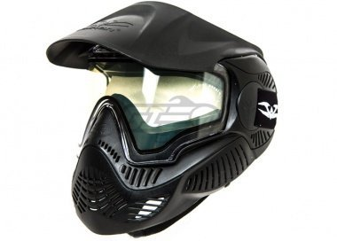 (Valken Paintball MI-3 Field Goggle/Mask with Dual Pane Thermal Lens - Rental -  - Black)