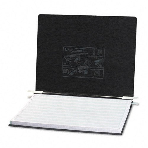 ACCO : Pressboard Hanging Data Binder ,14-7/8 x 11 Unburst Sheets, Black -:- Sold as 2 Packs of - 1 - / - Total of 2 Each by ACCO Brands