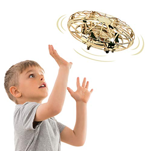 Tesoky New Toys for 3-12 Year Old Boys, Hand Operated Drone for Kids Cool Toys for 3-12 Year Old Boys Girls Fun Toys for Kids 3-12 for Teen Boys Girls Gifts for 3-13 Year Old Girls FT03