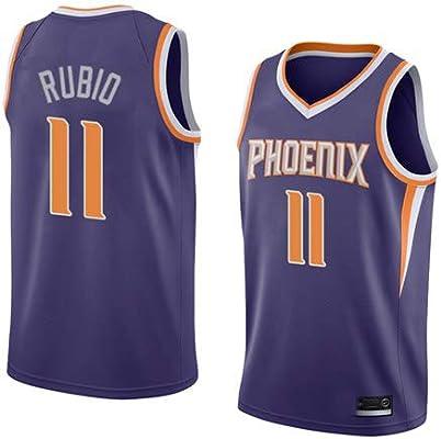 K&A Camiseta Ricky Rubio Phoenix Suns Morado para Hombre & Niño ...