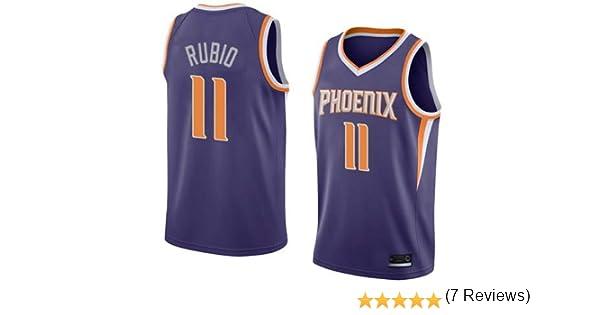 K&A Camiseta Ricky Rubio Phoenix Suns Morado para Hombre & Niño, Camiseta Ricky Rubio Phoenix Suns Icon Edición Swingman para Hombre & Niño (Morado, Hombre S): Amazon.es: Deportes y aire libre
