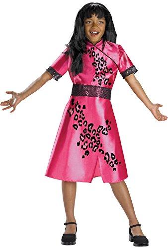 Morris Costumes CHEETAH GIRL GALLERIA 4-6 (Zorro Girl Costume)