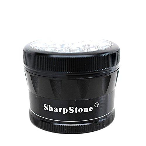 Sharpstone V2 Cleartop Grinder Black 2.5