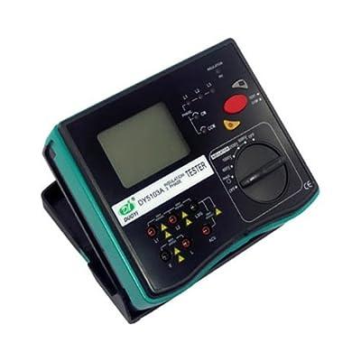DUOYI DY5103A Digital 5000V Insulation 3 Phase Tester Resistance Tester Megohmmeter Multimeter Tester Electrical Instrument