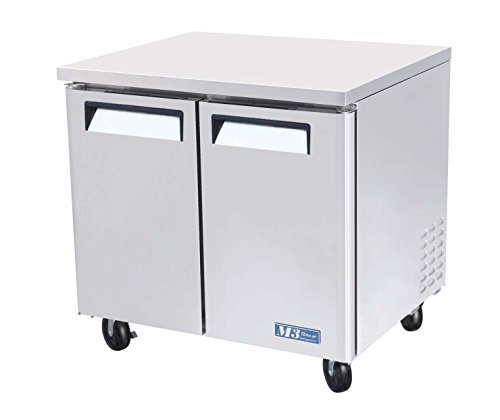 Refrigerator Series Undercounter Commercial - MUR36 9.5 cu. ft. M3 Series Undercounter Refrigerator with Efficient Refrigeration System Hot Gas Condensate System High Density PU Insulation and PE Coated Adjustable Shelves: Stainless Steel