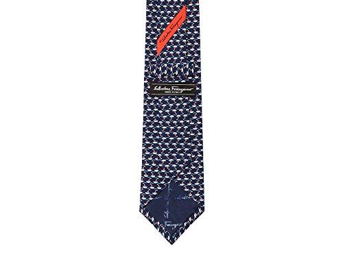 Salvatore-Ferragamo-Mens-Blue-Red-Silk-Boat-Neck-Tie