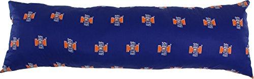 College Covers Illinois Fighting Illini Printed Body Pillow - 20