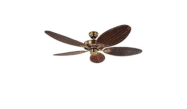 Ventilador de techo Classic Royal: latón antiguo: Amazon.es: Electrónica