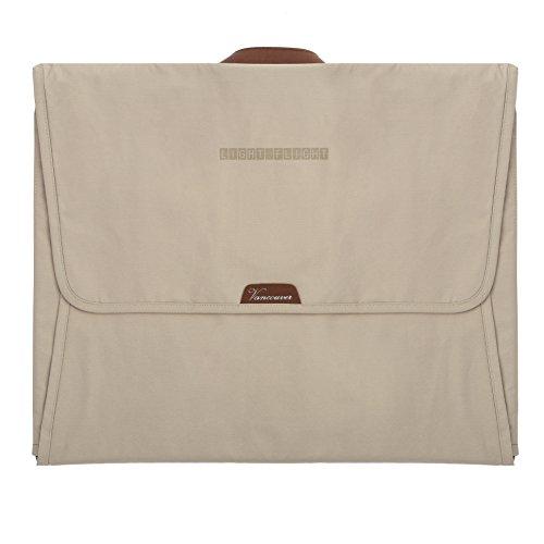 LIGHT FLIGHT Travel Packing Folder Anti-wrinkle Garment Bag with 16.9'' Folding Board, Beige