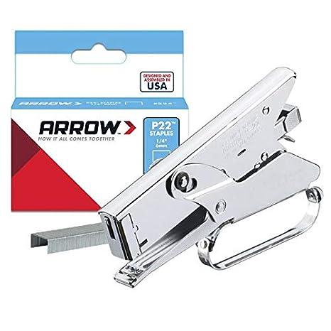 Amazon.com: Arrow Fastener P22 Heavy-Duty de tenaza ...