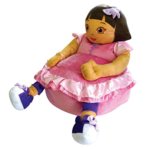 Nickelodeon Dora The Explorer Figural Bean Bag Chair