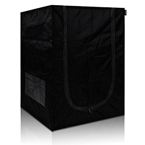 "41Jtg%2B4gCsL - LAGarden 24""x24""x36"" Mini 100% Reflective Mylar Hydroponics Indoor Grow Tent Non Toxic Planting Dark Room"