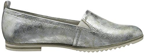 Donna Argento Tozzi Marco 24206 Mocassini Metall silver 933 Ax4wUqT