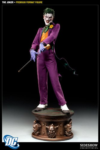 - Sideshow Collectibles - Batman statuette 1/4 Premium Format The Joker 66 cm