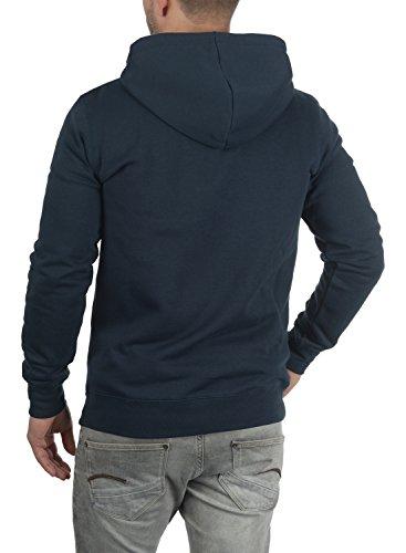 Blue Fermeture Bertizip Insignia Sweat Éclair Sweat Pour Homme Doublure shirt À Zippé Avec En 1991 Capuche Polaire Veste solid Twq6Sw