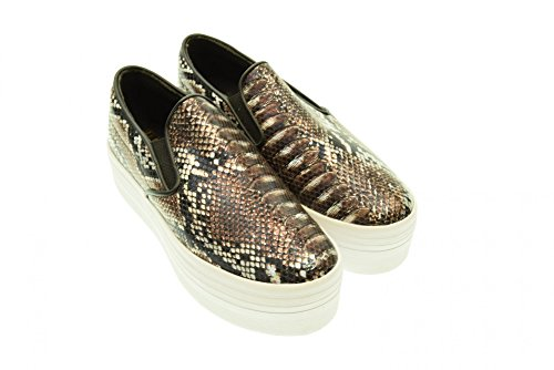 Jeffrey Campbell Slip On Black/grey, 40