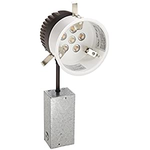 WAC Lighting HR-LED418-R-27 LEDme 4-Inch Recessed Downlight - Remodel - Non-Ic Housing - 2700K