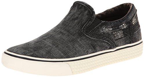 Diesel Women's Laika Vansis W Fashion Sneaker, Black, 9 M US