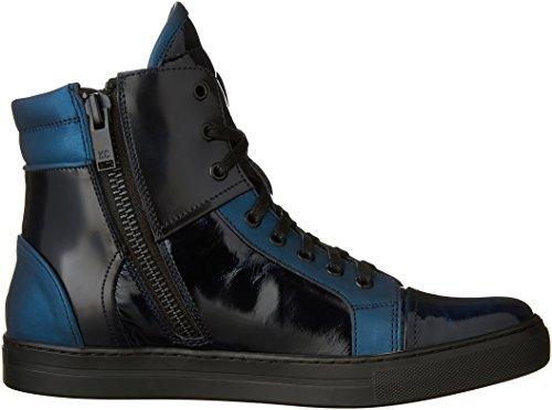 Kenneth Cole New York Heren Double Header Ii Xl Fashion Sneaker Blauw