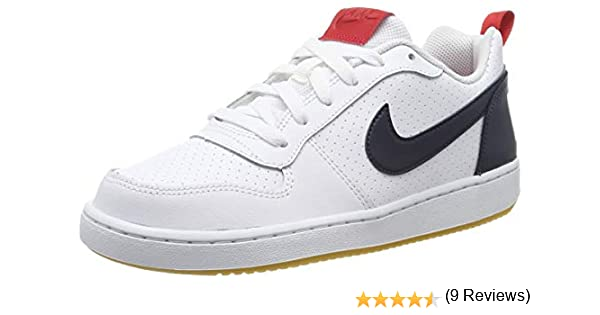 Nike Court Borough Low (GS), Zapatos de Baloncesto para Niños ...