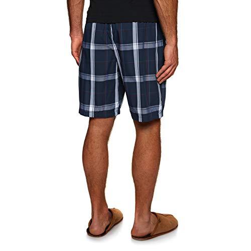 Large Plaid Calvin Pyjamas Navy Short Klein Campus Sleep HzzqIwY