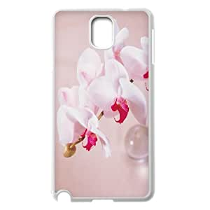 Case for Samsung Galaxy Note 2, White Flowers Case for Samsung Galaxy Note 2, Vinceryshop White