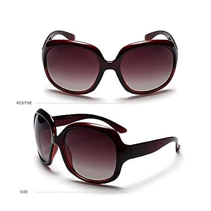 Lenses Color: C1 Kasuki Jsooyan Oversize Luxury Sunglasses Women Polarized 2018 Fashion Adult Sun Glasses Female Black Wine Red Shade Glass