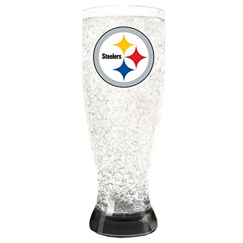 NFL Pittsburgh Steelers 16oz Crystal Freezer Pilsner