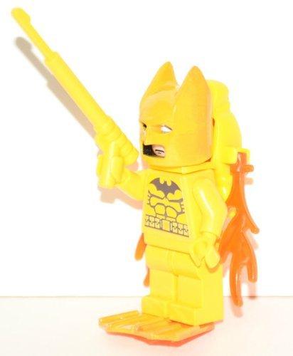 Custom Aqua Attack Batman Concept on Lego Mini Figure (Torso