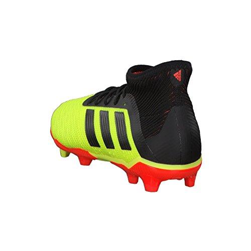 Adidas Adulto 18 Unisex fluo Db2315 1 Fútbol Botas Predator Jr rouge jaune de FG noir ZqwZ4aC