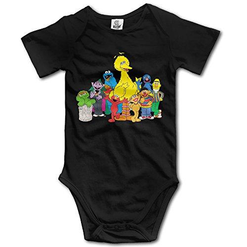 (Cartoon Muppet Sesame Street Baby Onesie Baby Bodysuit)