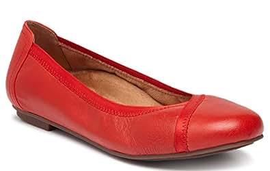 Vionic Womens Caroll Caroll Red Size: 5