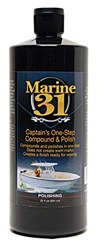 Marine 31 Captain' s One-Step Compound & Polish M31-251