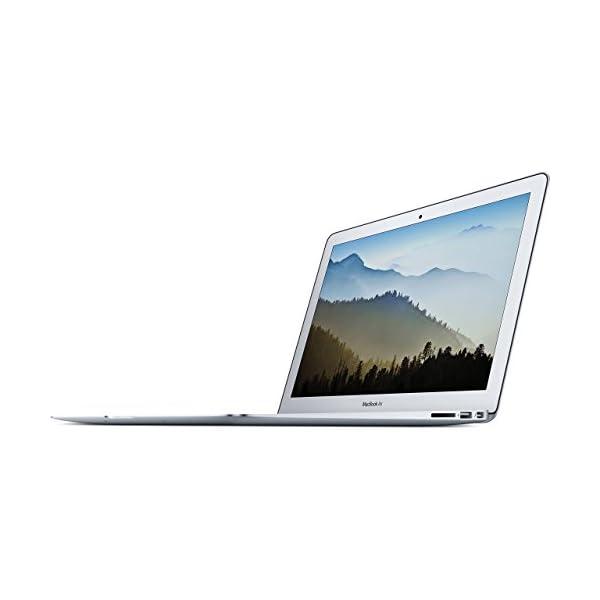 "Apple 13"" MacBook Air, 1.8GHz Intel Core i5 Dual Core Processor, 8GB RAM, 128GB SSD, Mac OS, Silver, MQD32LL/A (Newest Version) (Refurbished) 1"