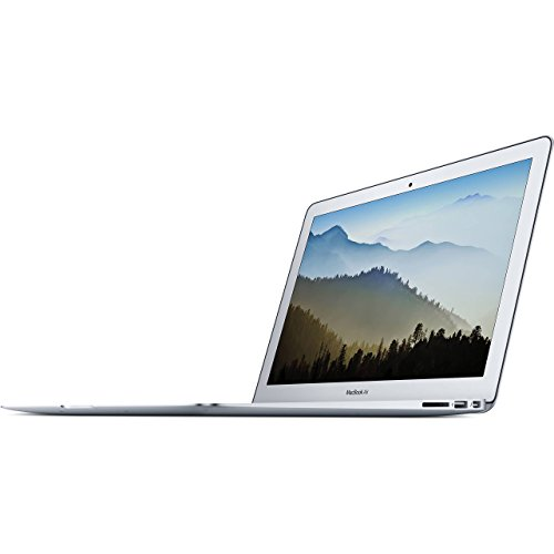 Apple 13in MacBook Air, 1.8GHz Intel Core i5 Dual Core Processor, 8GB RAM, 128GB SSD, Mac OS, Silver, MQD32LL/A (Newest Version) (Renewed)