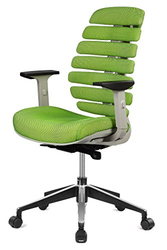 ImpecGear ERGO HQ Brand Executive Office Chair Mid-Back Fabric Mesh Chair with Chrome Base and Adjustable Seat and Arm Rest (Ergo Task Chair)