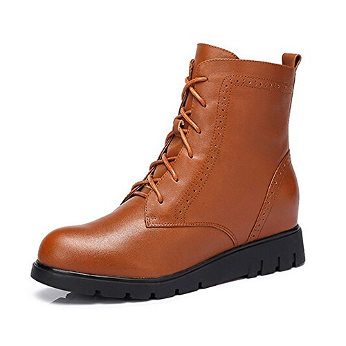 Camel Womens Classic 6 Eye Martin Boot Colore Marrone Taglia 36 M Eu
