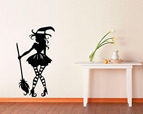 FSDS Vinyl Wall Decal - Halloween Little Witch