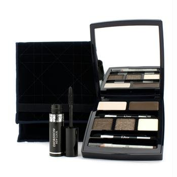 Dior Celebration collection - Makeup palette for the Eyes ~ eyeshadows, eyeliner, serum primer & (0.06 Ounce Cream Eyeliner)