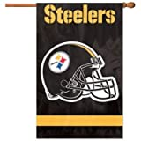 Party Animal AFST Steelers Applique Banner Flag For Sale
