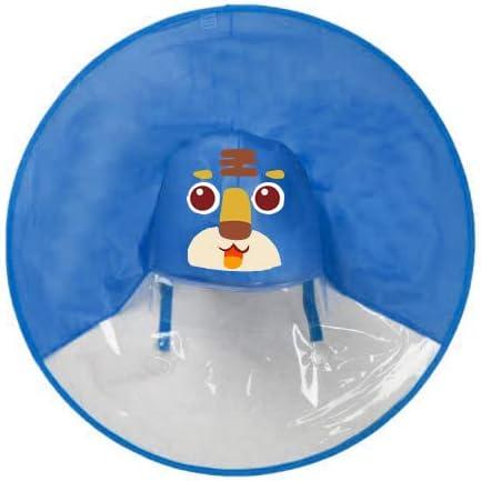 Ynebwcie OVNI Niños Impermeable Lindo Amarillo Pato Lluvia Cubierta Impermeable para Niños Cubierta de Paraguas Chica Niño Chaqueta de Lluvia Niño Poncho Capa Tiger Blue S for 1-6 Years Old: Amazon.es: Hogar
