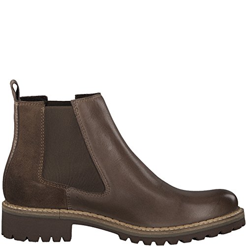 Tamaris Boots 25457 Chelsea Comb Taupe Femme 21 rErqf8A