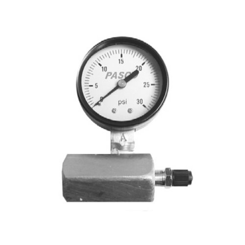Pasco 1421 100-Pound Gas Test Gauge Assembly