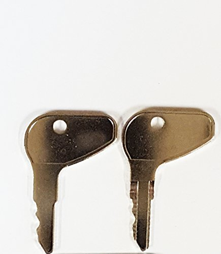 Cub Cadet Series (Pair (2 keys) Keyman Kubota L Series Equipment & Tractor Key-Ignition key for Case, Cub Cadet, Kubota, Mahindra, Mitsubishi-Satoh, Part Number 32412)