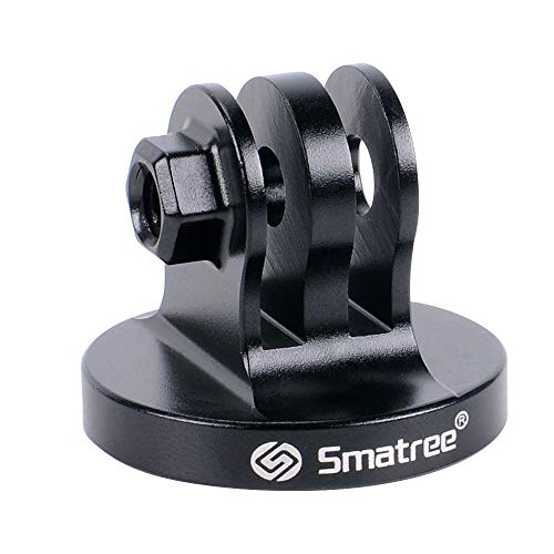 Smatree Stativ-Adapter für GoPro Session, GoPro Hero 2018, GoPro HeroFusion, GoPro Hero8/7/6/5/4/3/2/1 Kameras, Schwarz